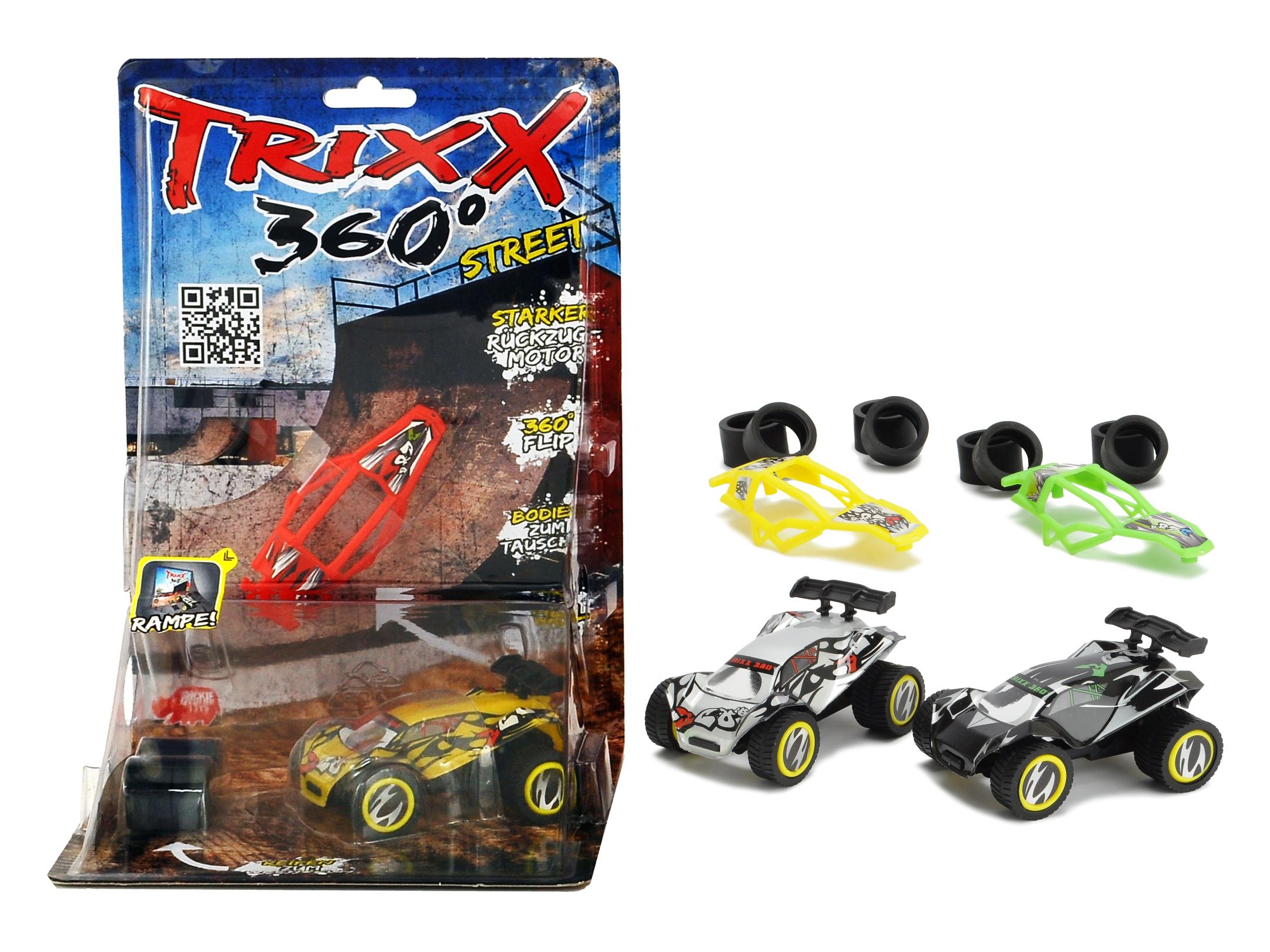 TRXX03 Trixx 360 - Double Ramp 3fs