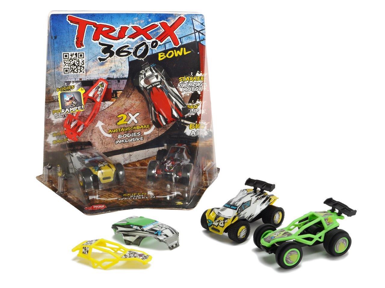 TRXX04 Trixx 360 - Corner Bowl Ramp 2fs