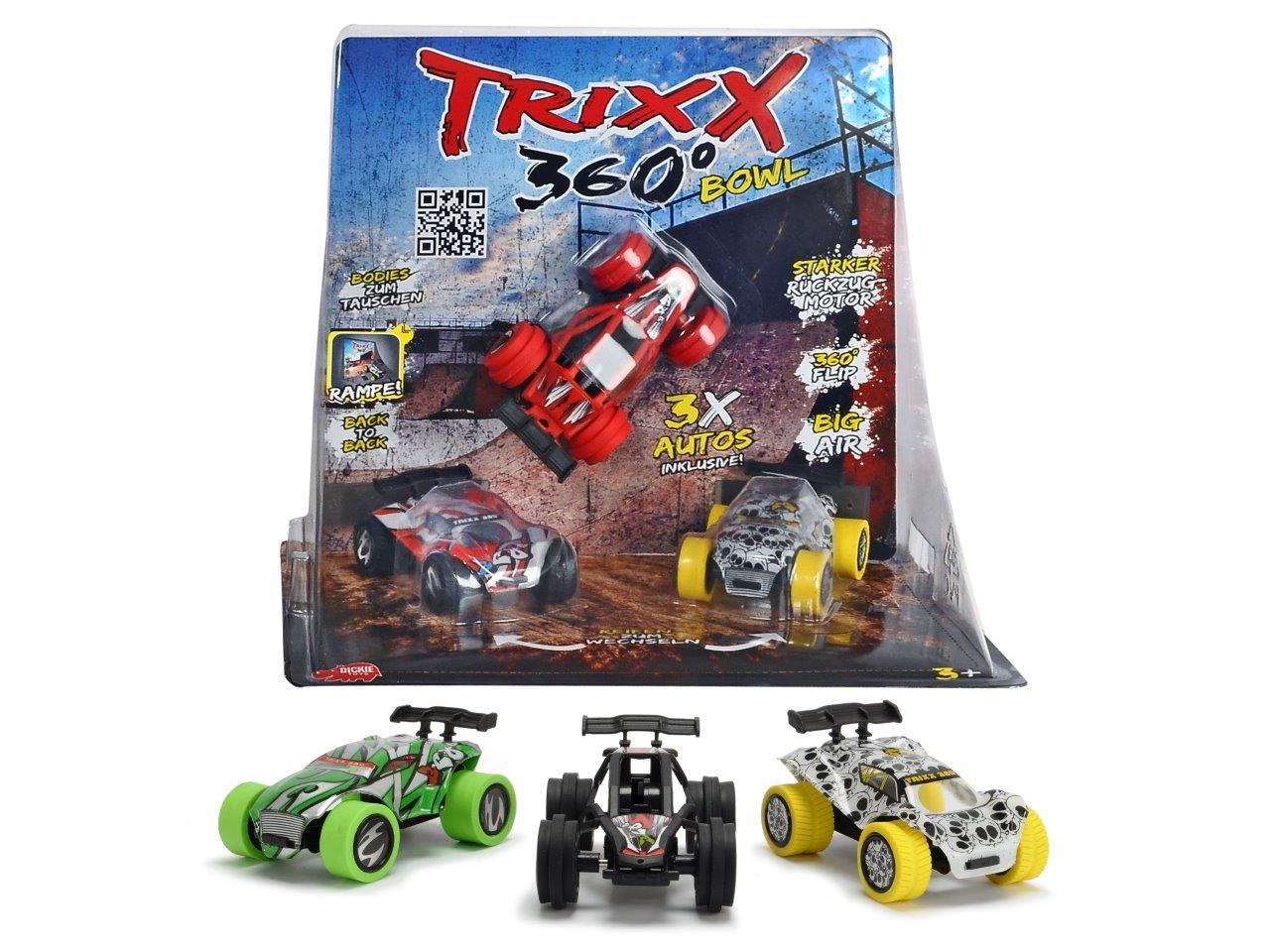 TRXX05 Trixx 360 - Straight Bowl Ramp 2fs