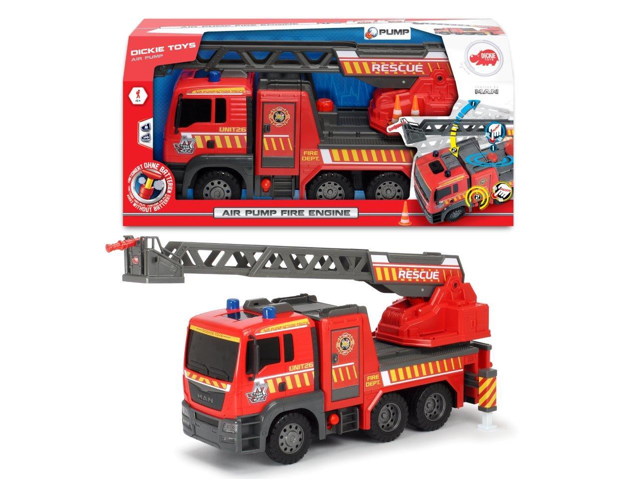 Air Pump Fire Engine MAN 54cm