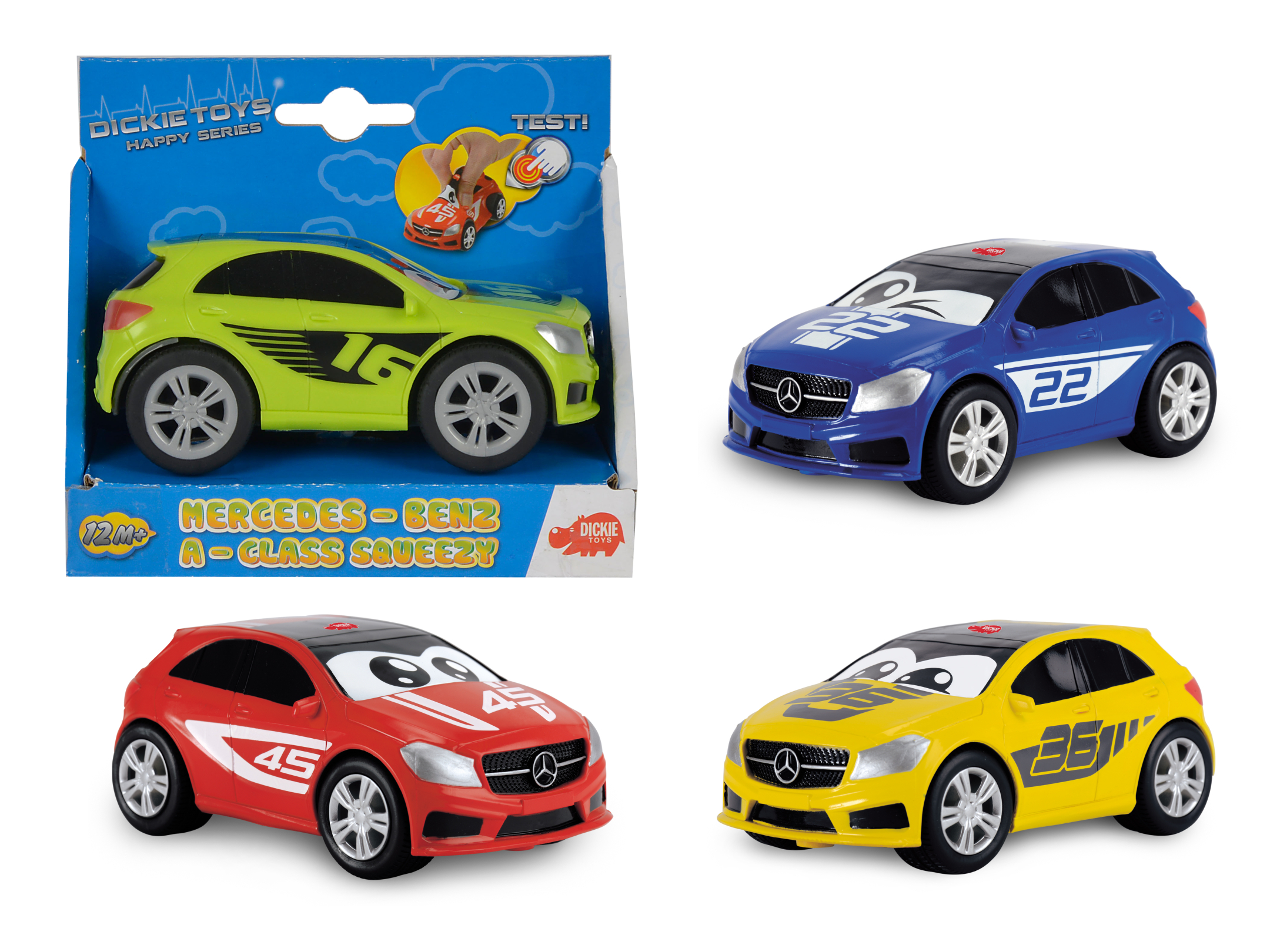 Happy Cars Mercedes Benz Squezzy 4fs