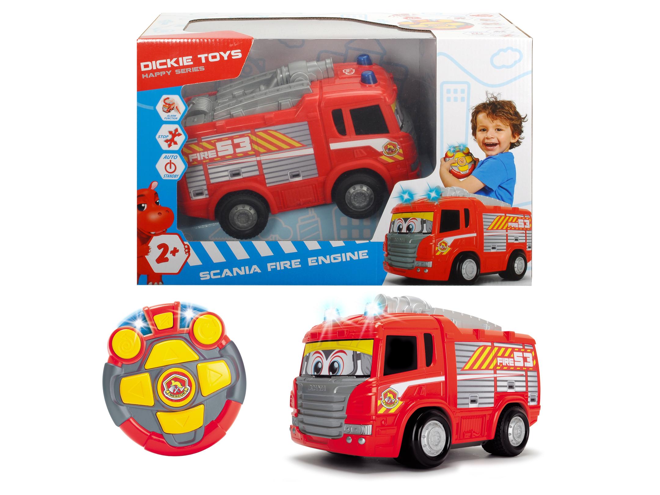RC Scania Fire Engine