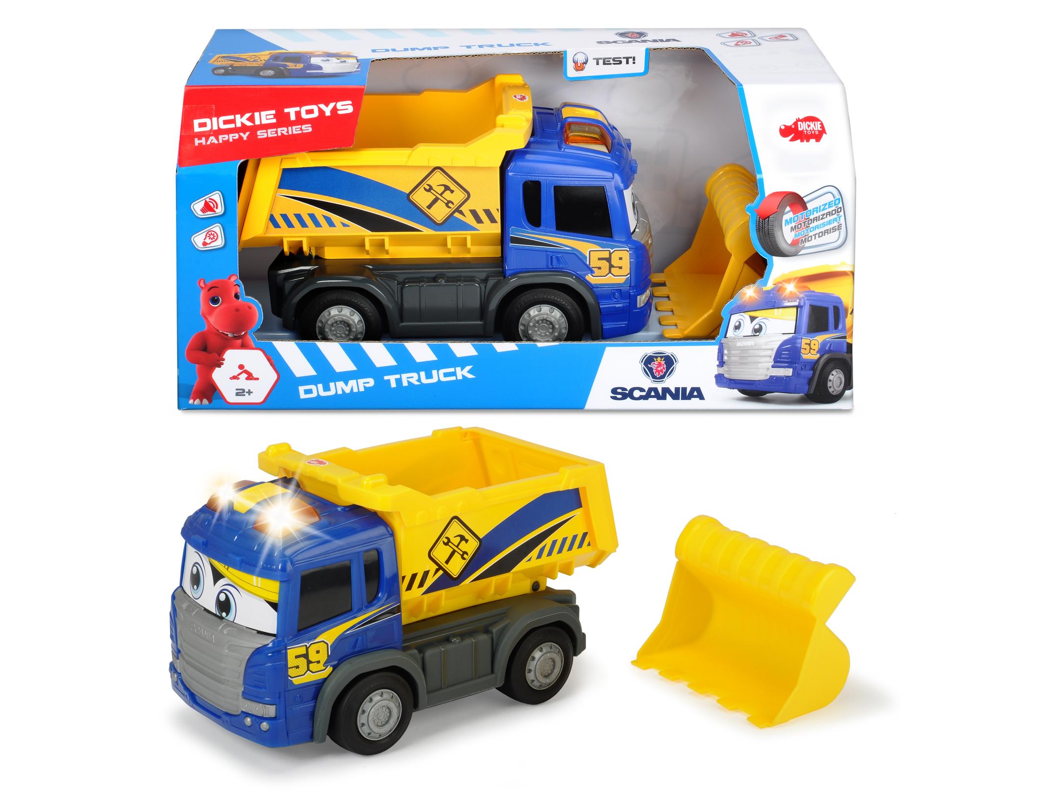 Happy Scania Dump Truck