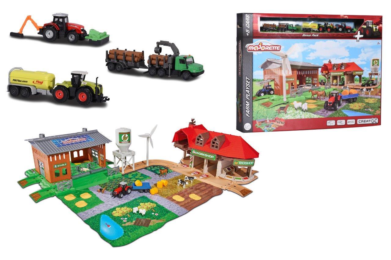 Creatix Big Farm + 5 Fahrzeuge