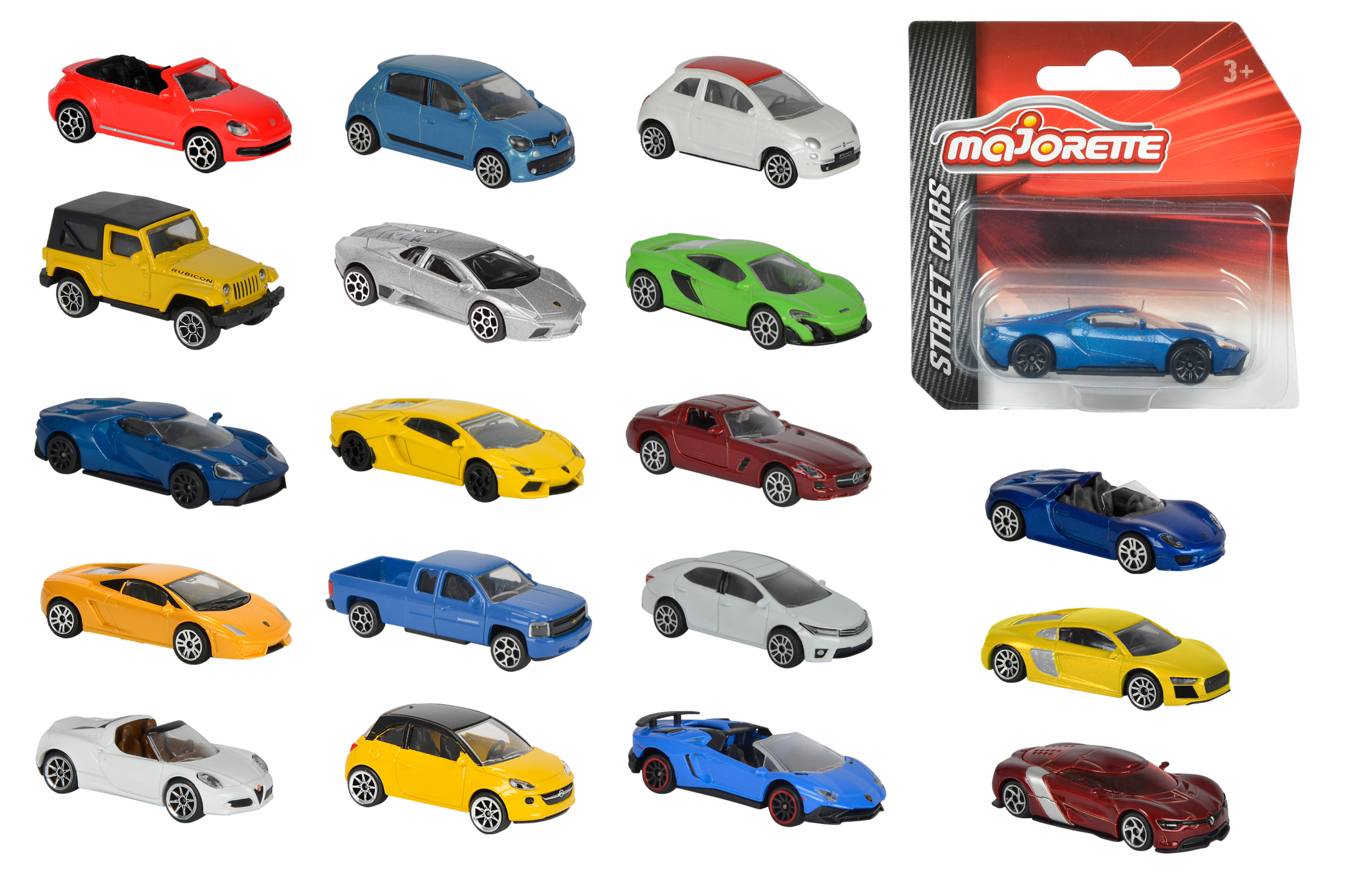 Street Cars Assortment 18fs