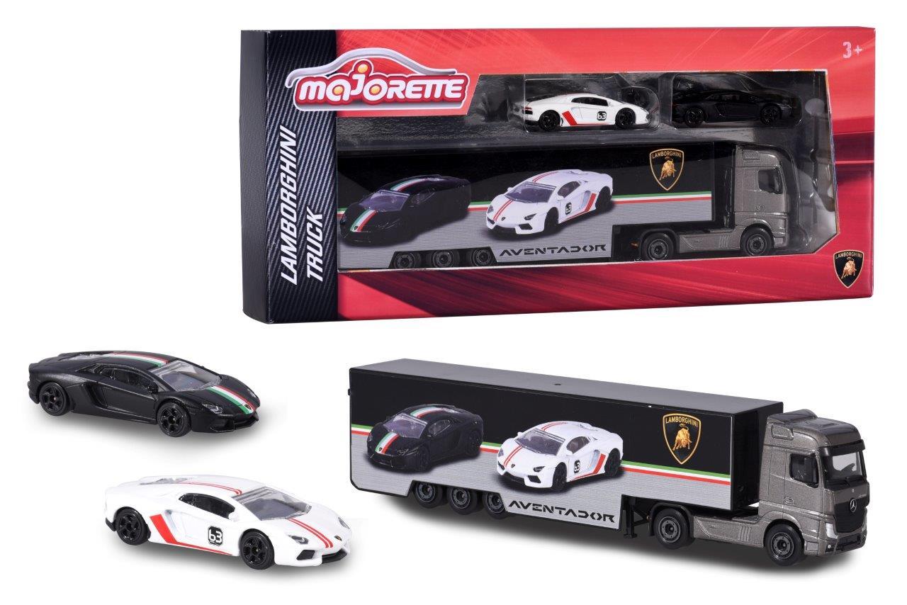 Lamborghini Truck + 2 Cars