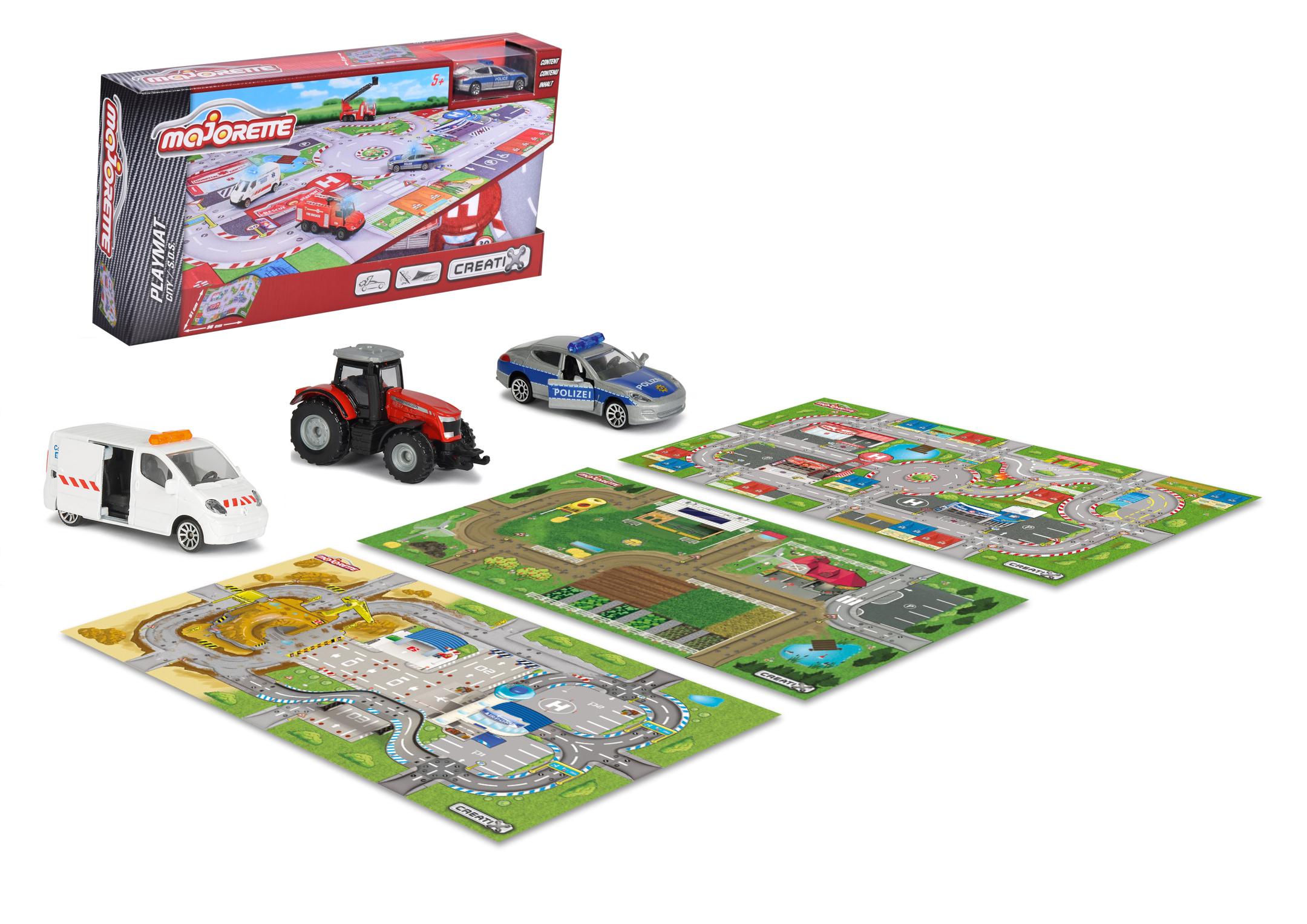 Creatix Playmat Spielmatte 3fs.