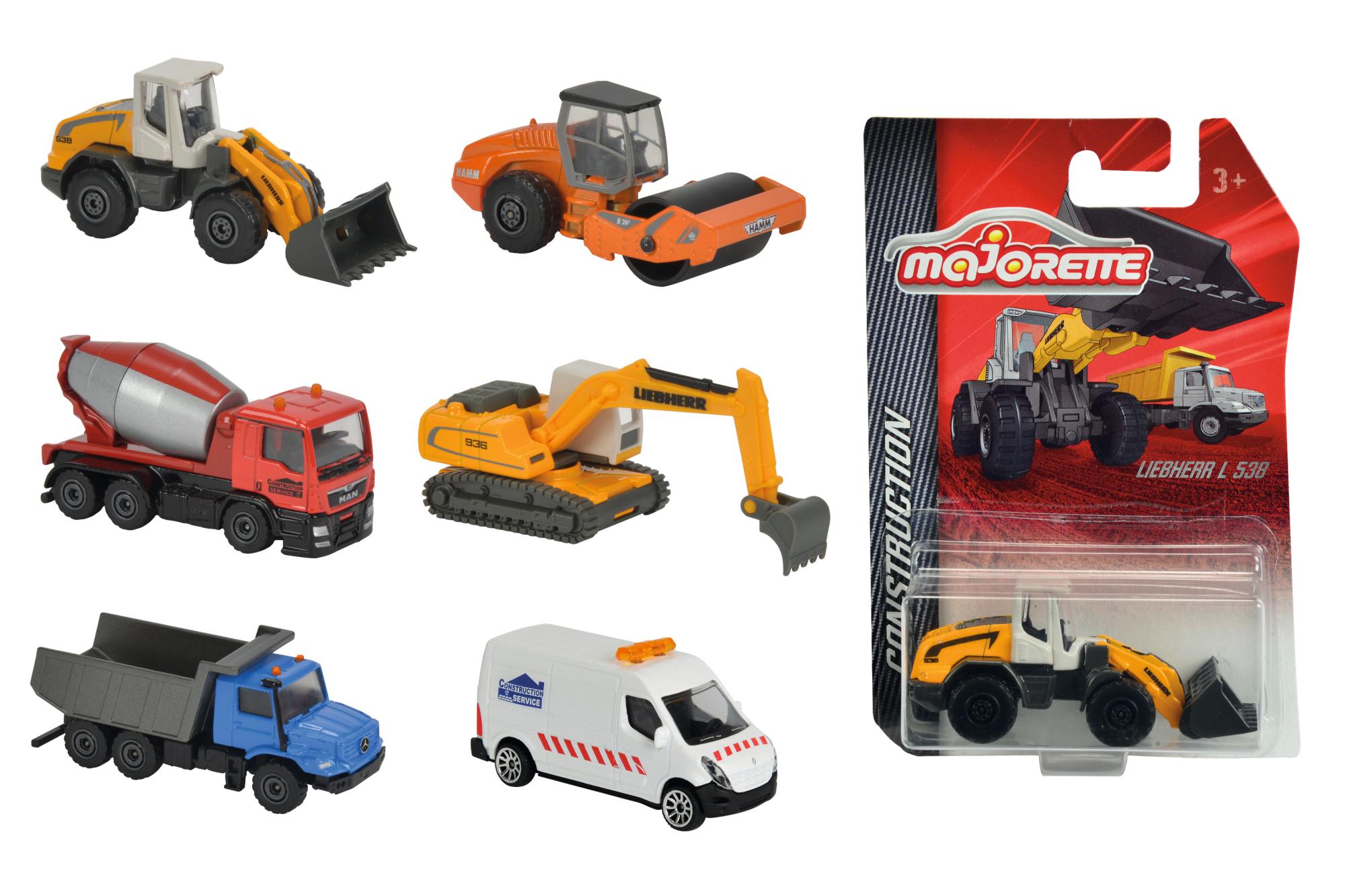 Majorette Construktions Fahrzeuge 6fs