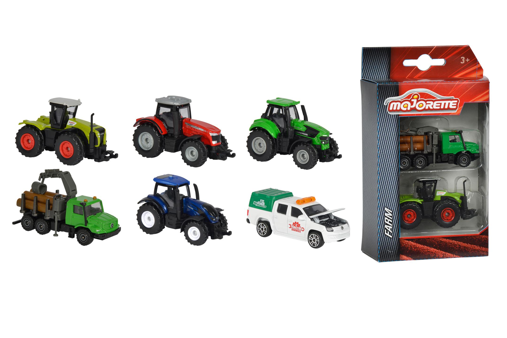 Majorette Farm Fahrzeuge 2tlg 3fs