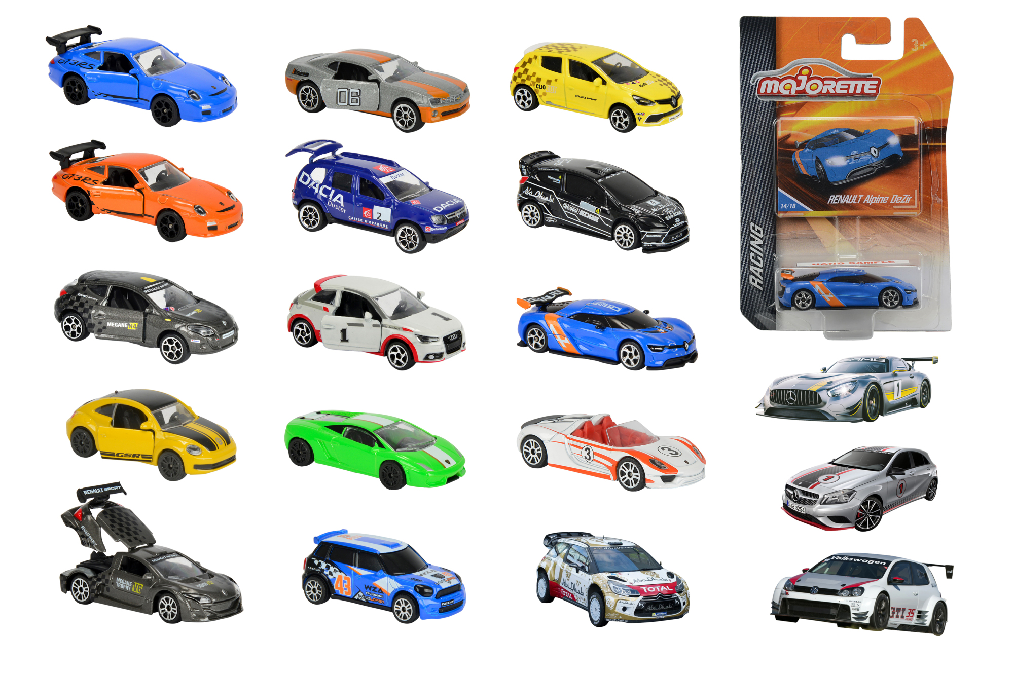 Majorette Racing Assortment 18fs