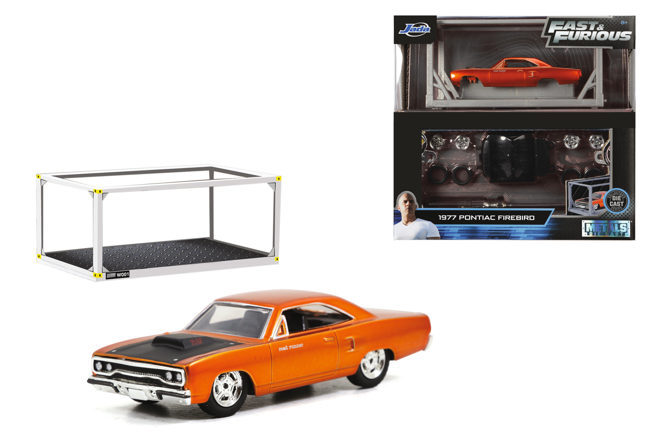 Fast & Furious Bausatz 1970 Plymouth 1:55