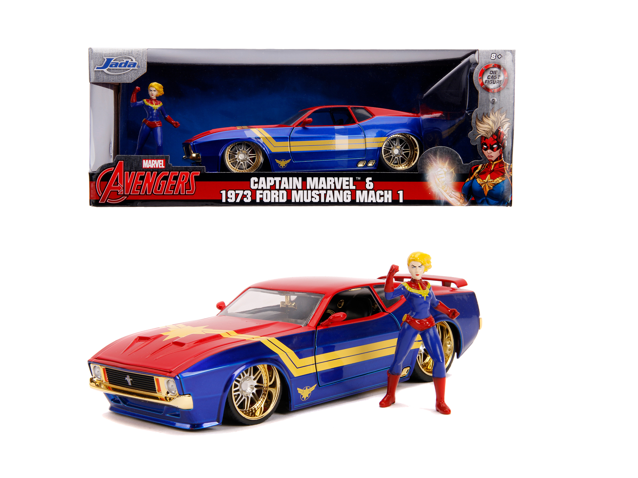 Marvel Avengers Ford Mustang Mach 1 1:24