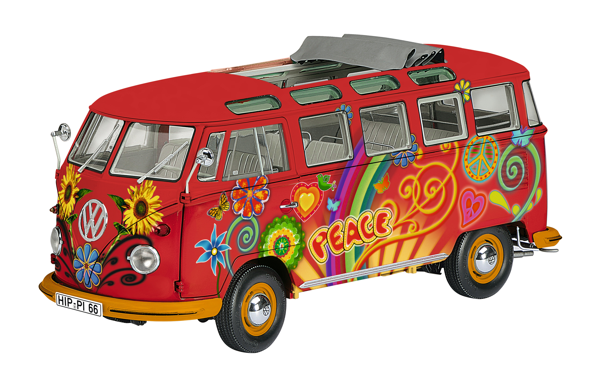 VW T1 Samba Hippie