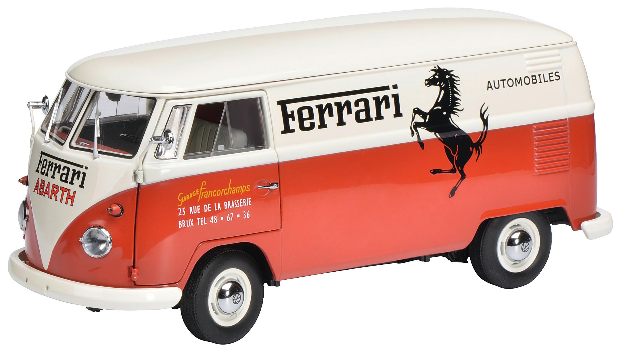 VW T1b Kastenwagen - Ferrari