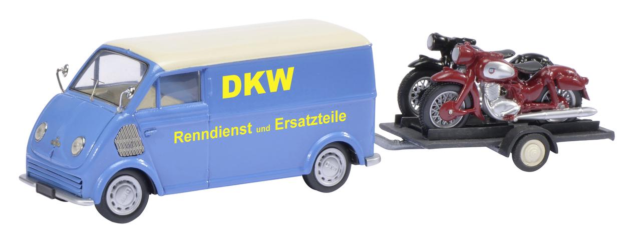 DKW Schnelllaster mit Anhänger