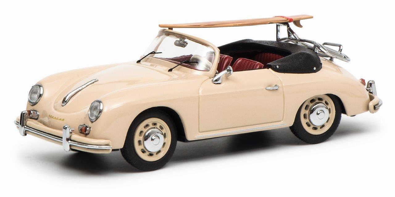 Porsche 356 Cabrio, beige 1:43