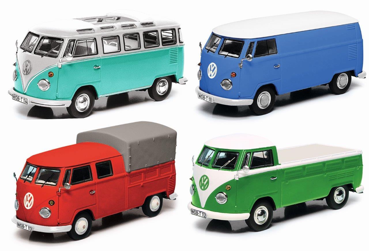 VW T1 Set 1:43