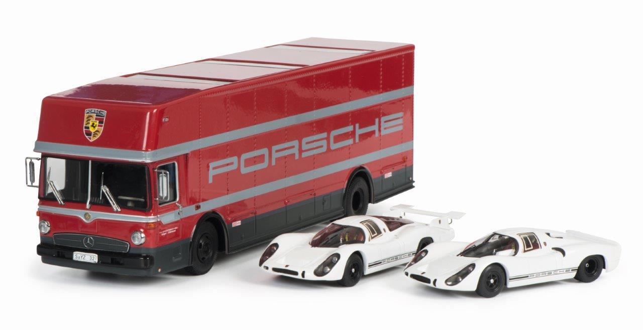 Set Edition 70 Jahre Porsche 1:43