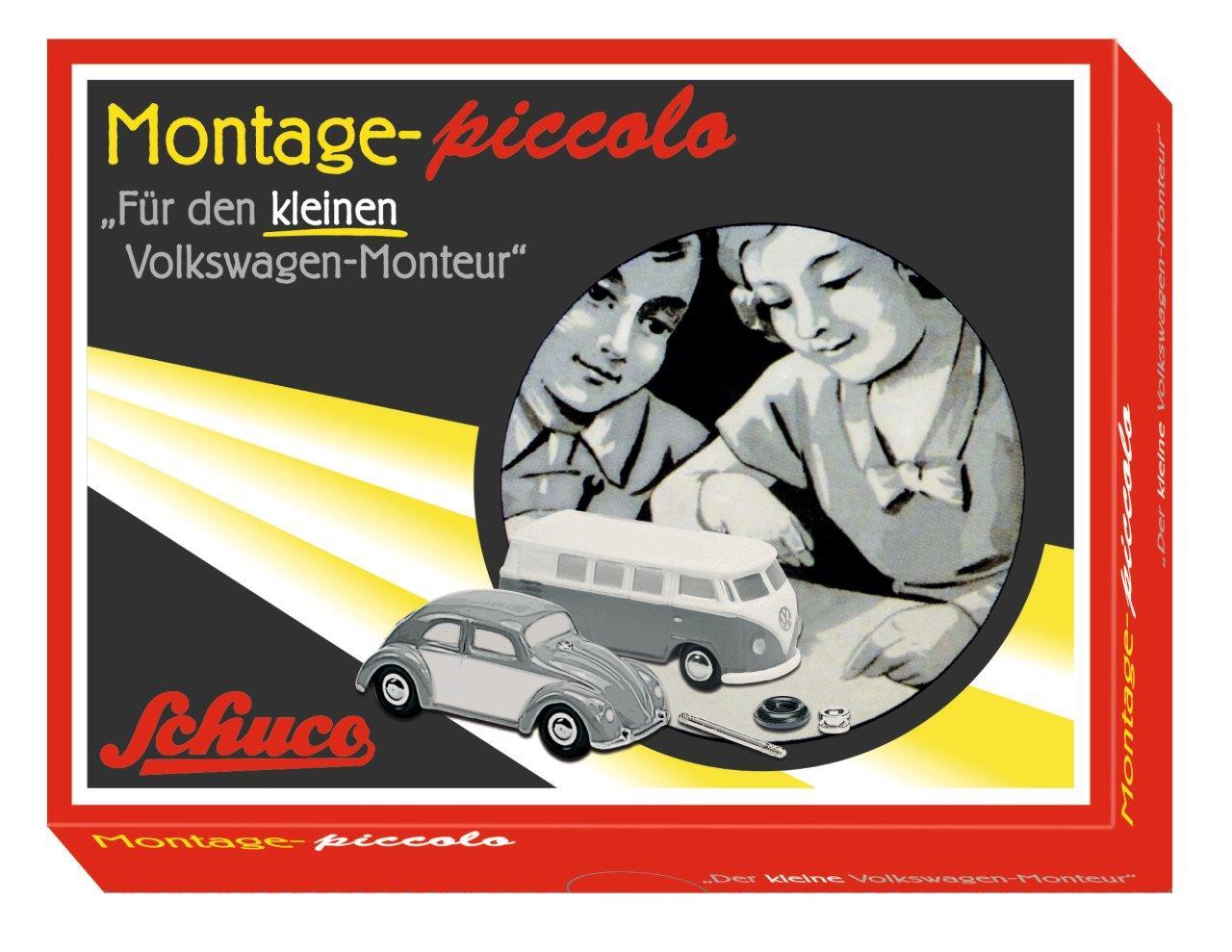 Piccolo Montagekasten VW-Monteur