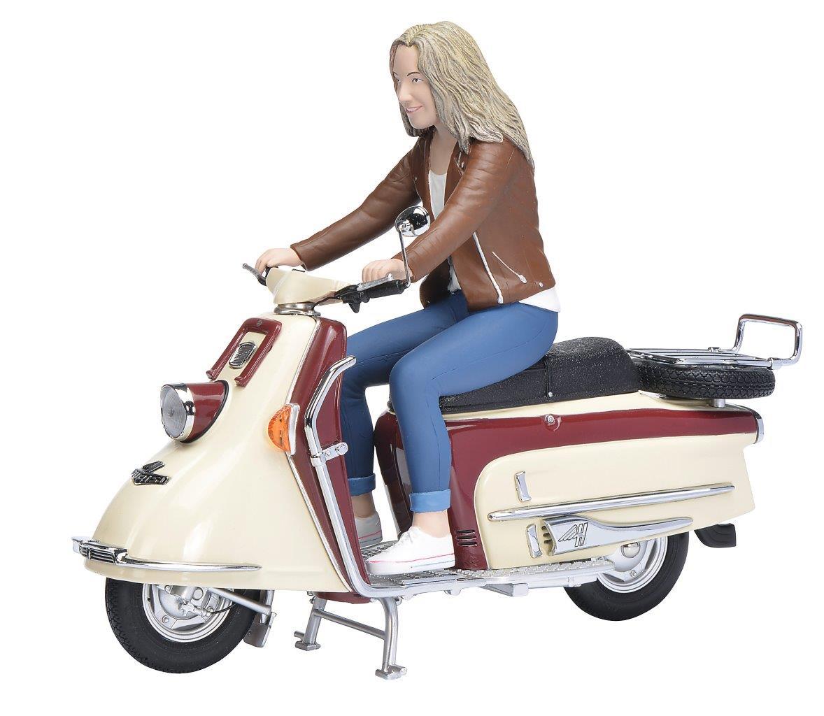 Heinkel Roller 103 A2 mit Figur