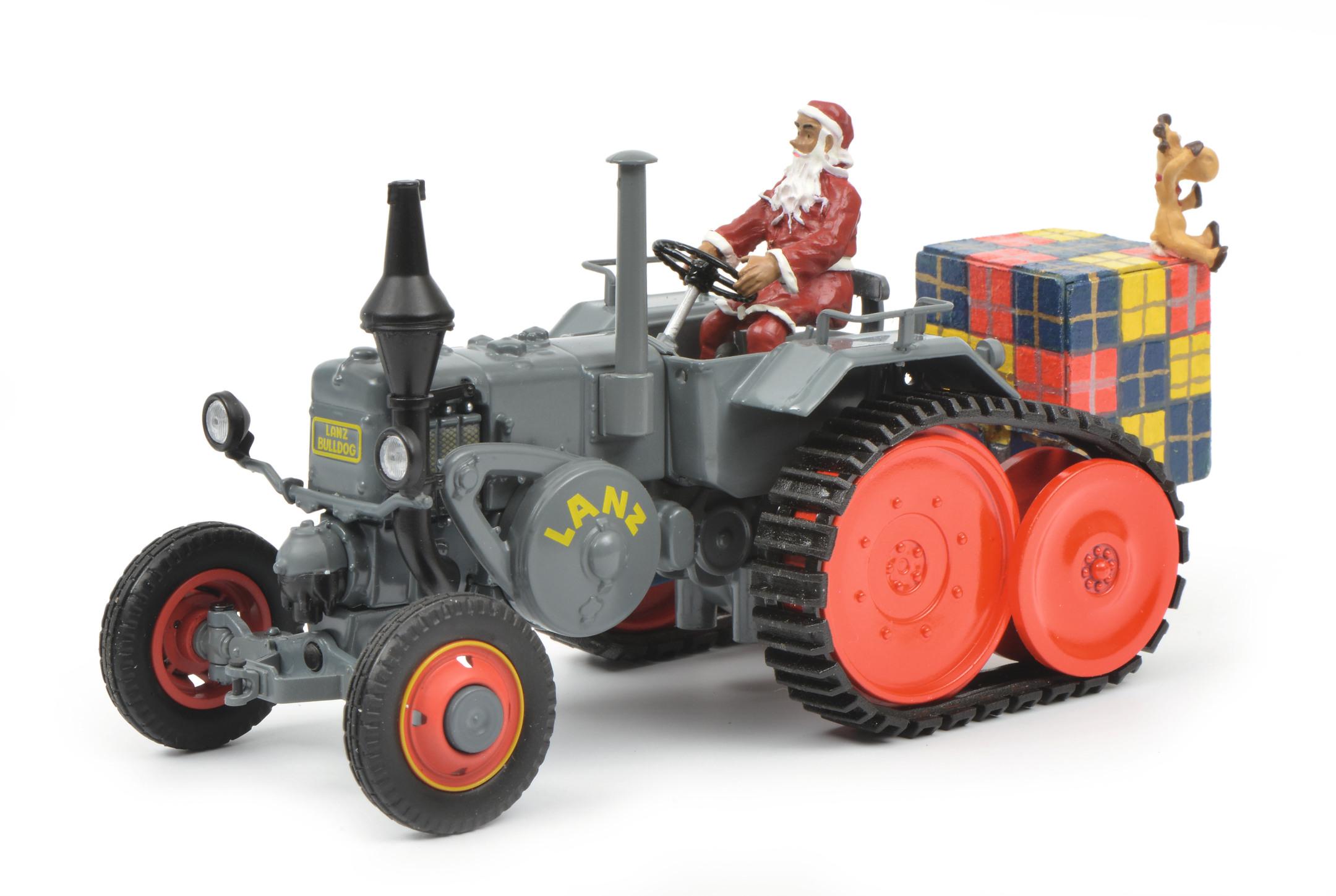 Lanz Bulldog Weihnachten 2018