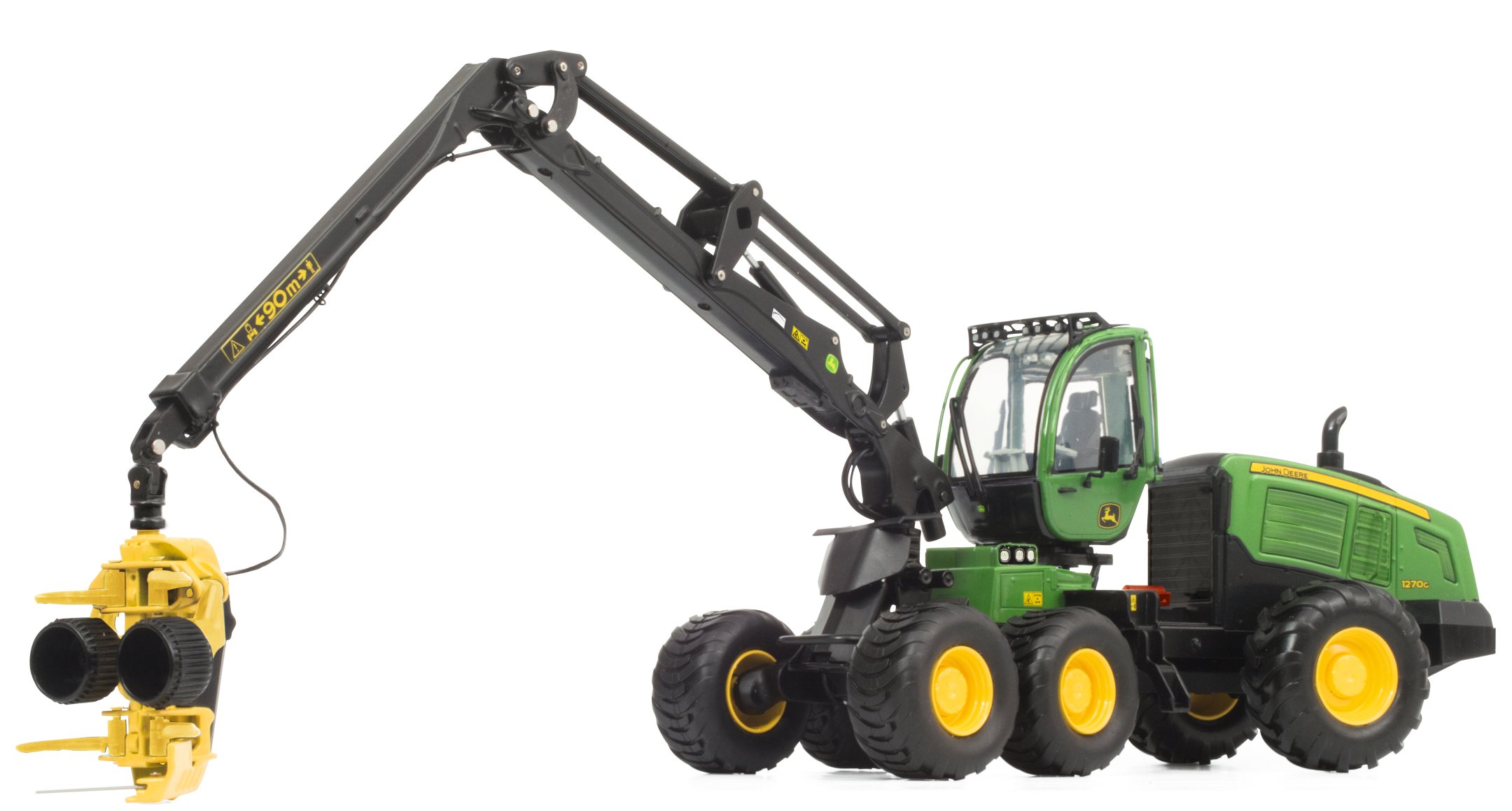John Deere 1270G 6W Harvester (2015)