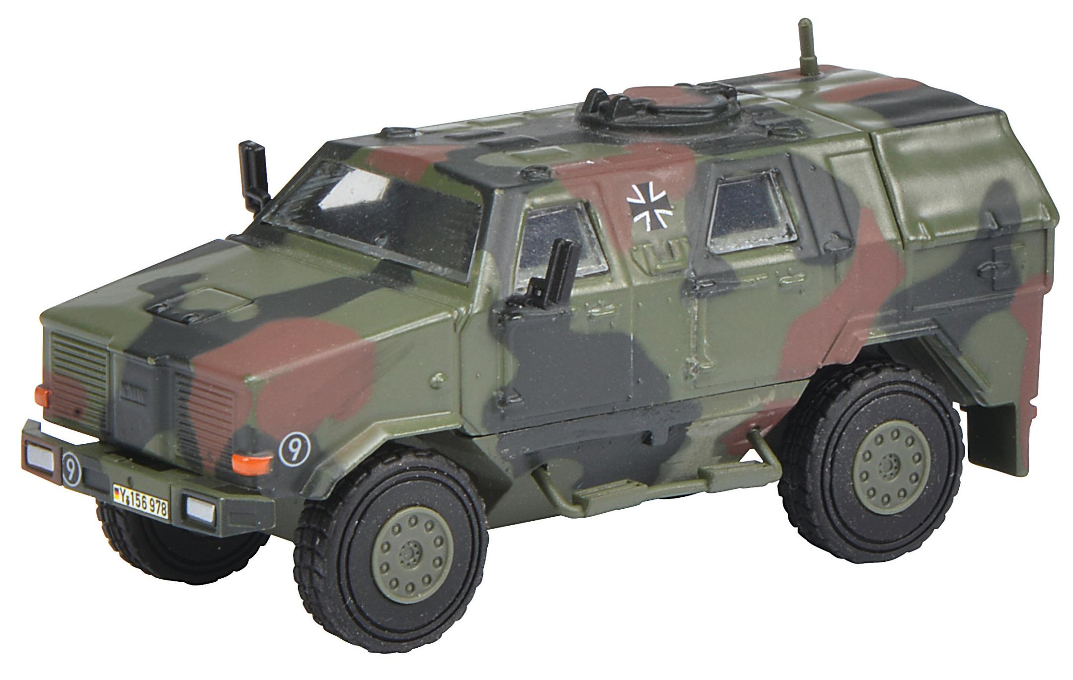 DINGO I Allschutzfahrzeug - Bundeswehr