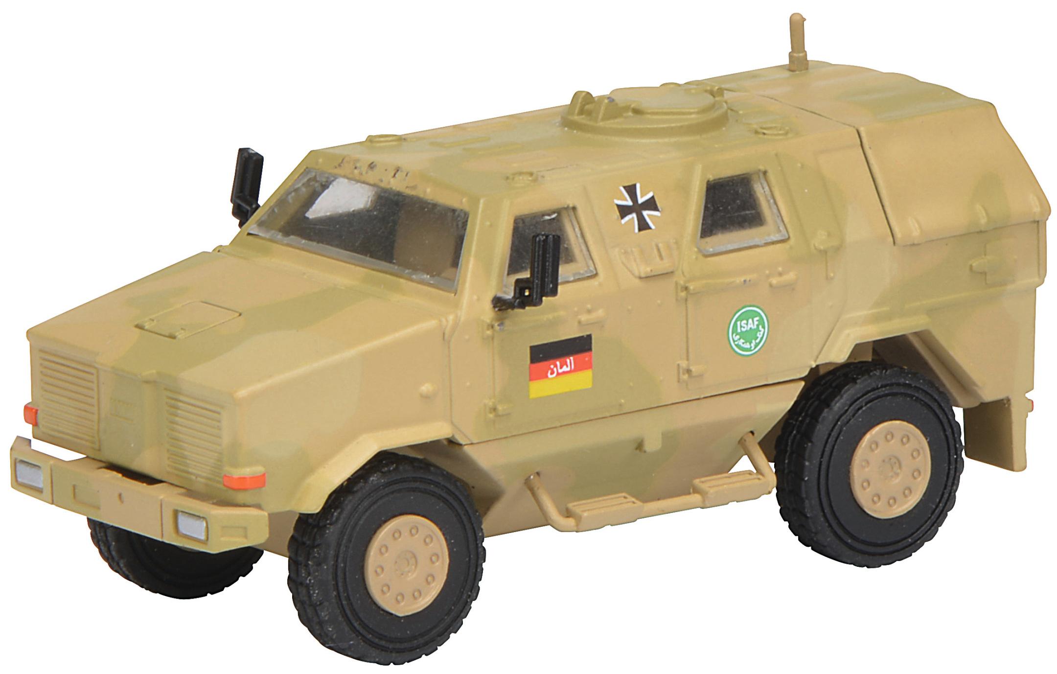 DINGO I Allschutzfahrzeug - ISAF