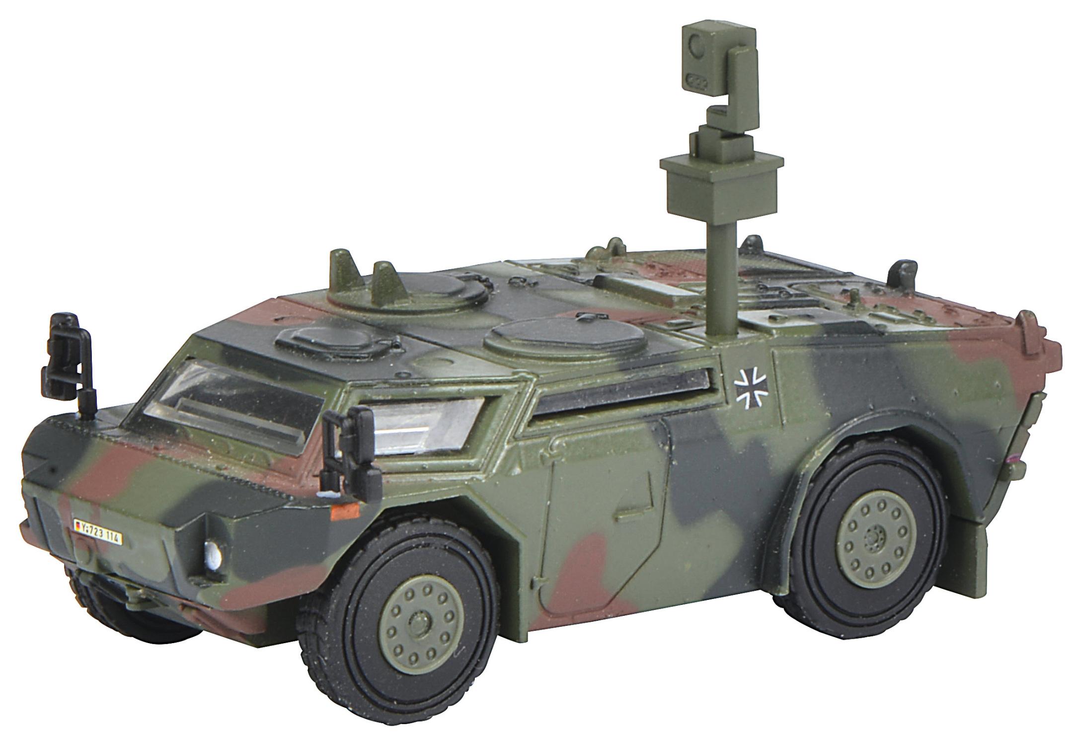 Fennek Panzerspähwagen - Bundeswehr