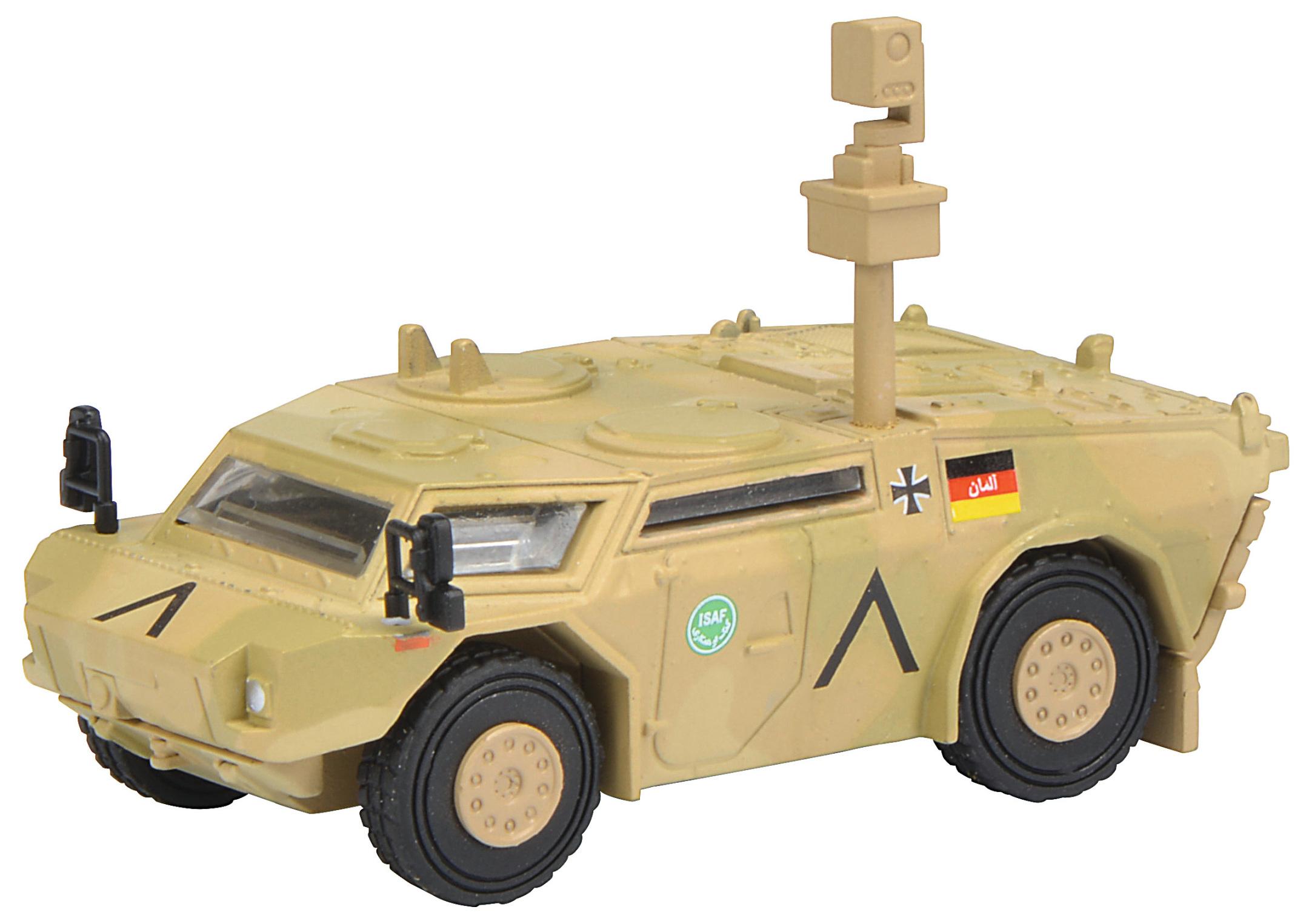 Fennek Panzerspähwagen - ISAF