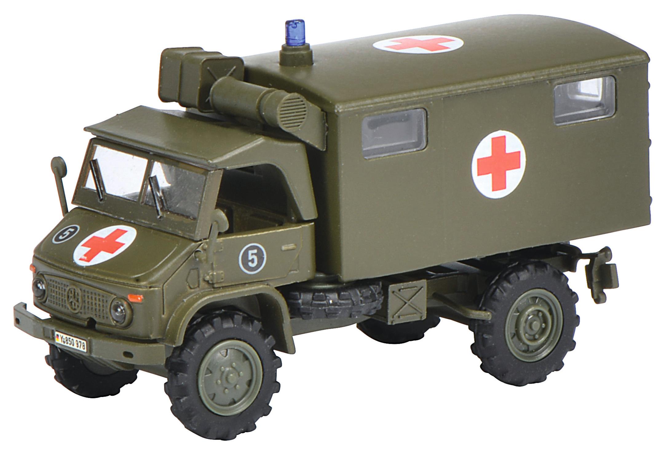 Unimog S 404 Sanka - Bundeswehr