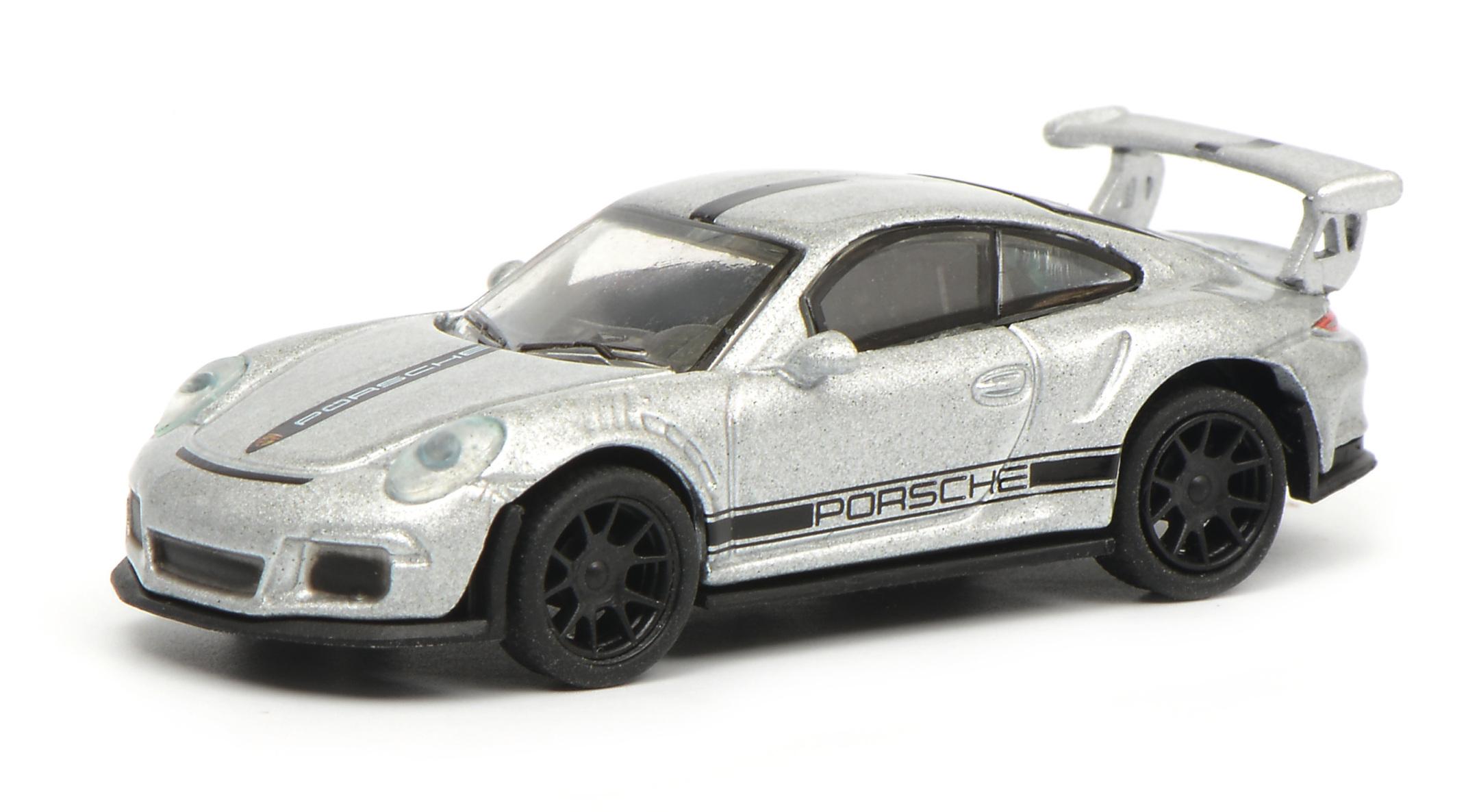 Porsche 911 GT3 RS silber 1:87