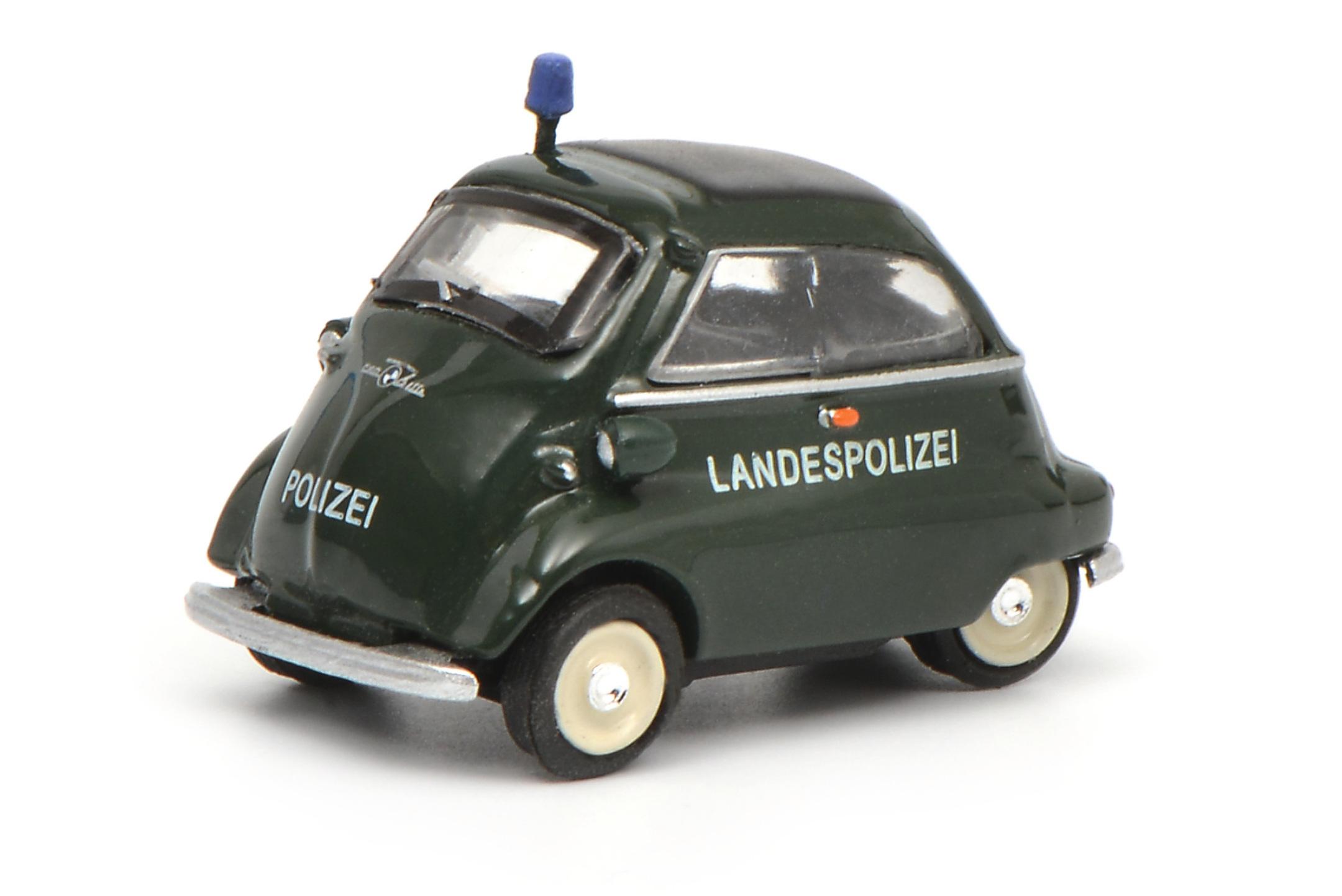 BMW Isetta Landespolizei 1:87