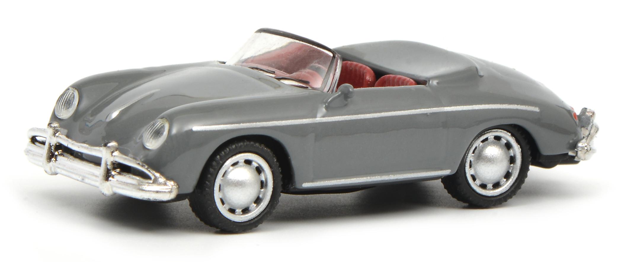 Porsche 356 A Speedster grau 1:87