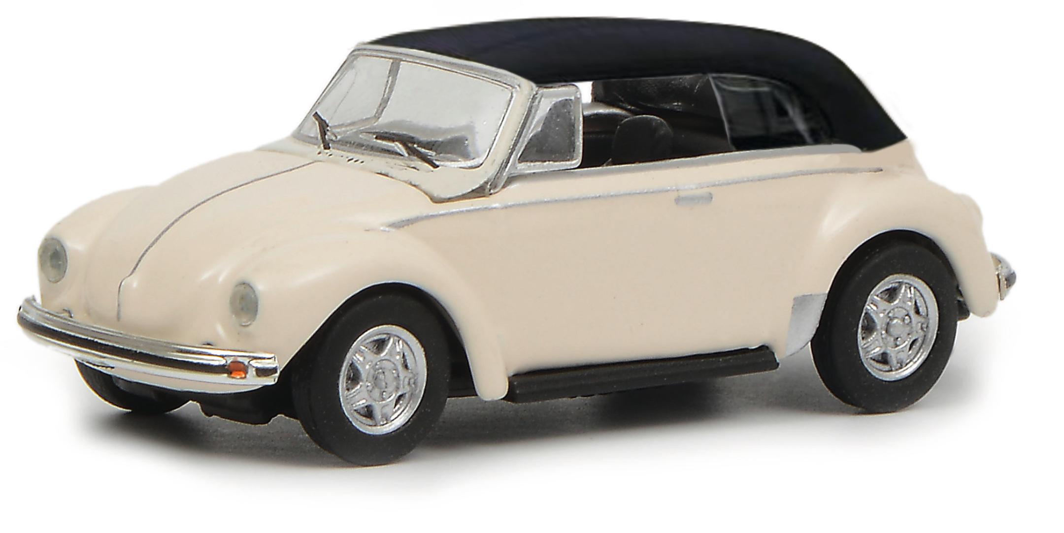 VW Käfer Cabrio weiß 1:87