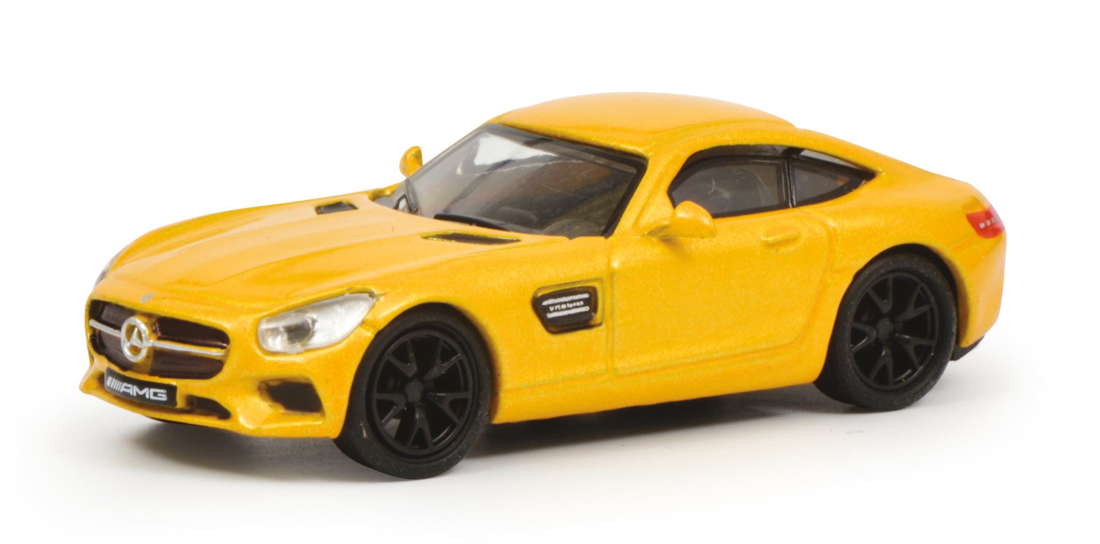 Mercedes Benz AMG GT gelb 1:87