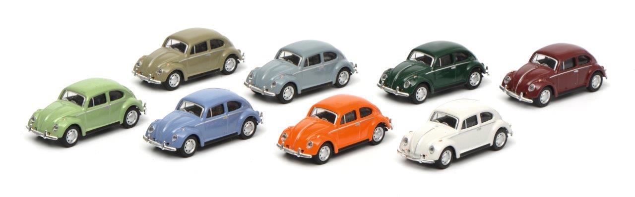 VW Käfer 8-er Set 1:87