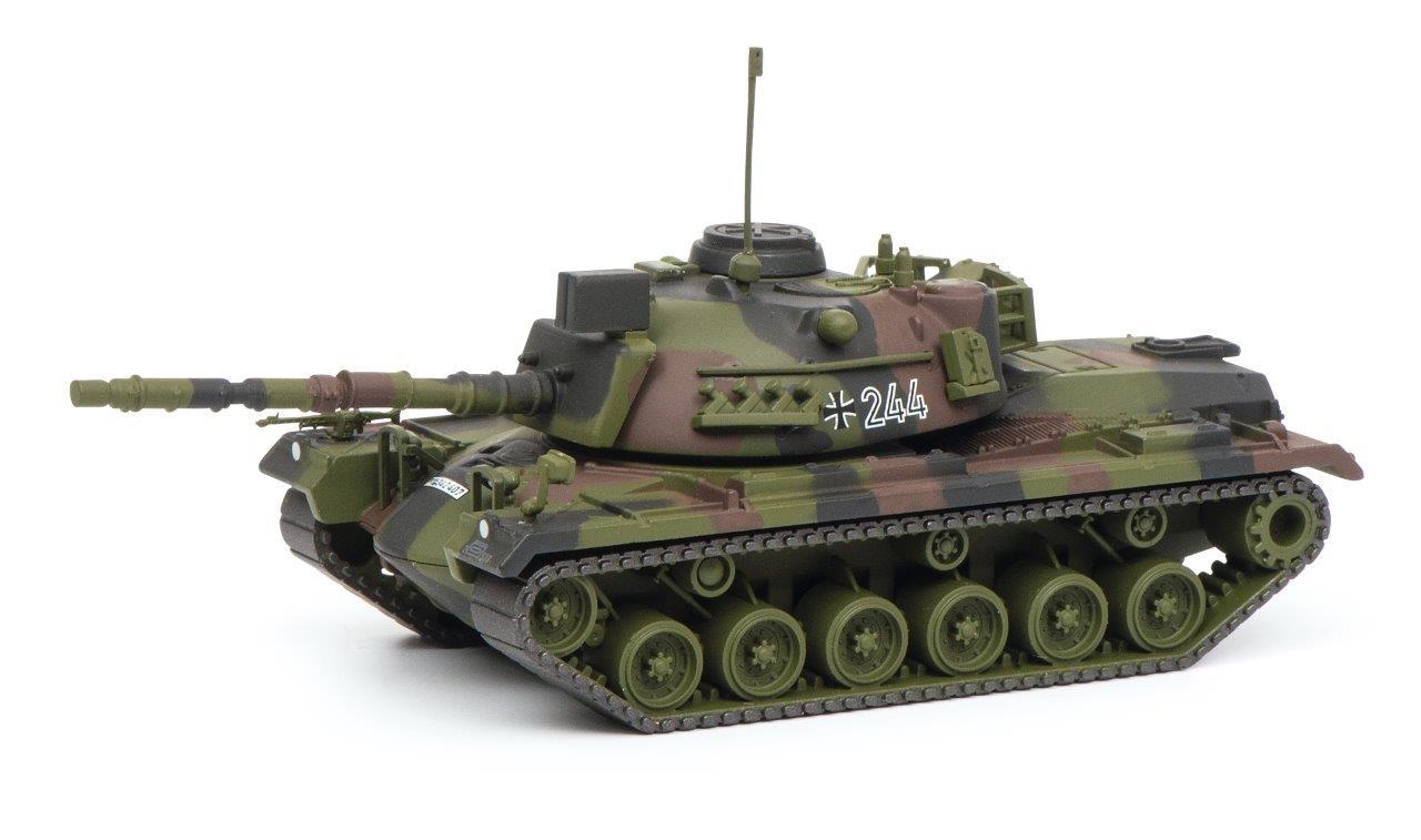 M48G Kampfpanzer flecktarn 1:87