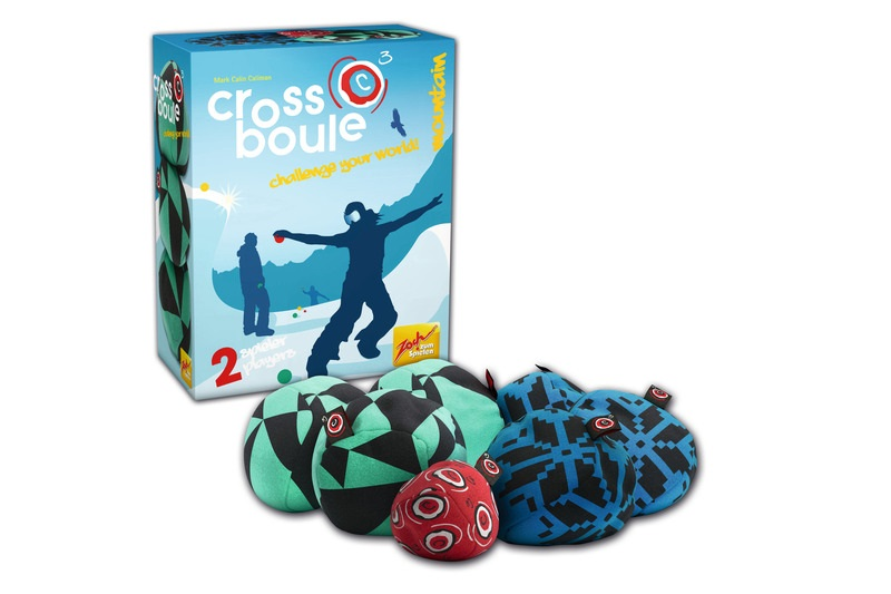Outdoor Crossboule Set Montain