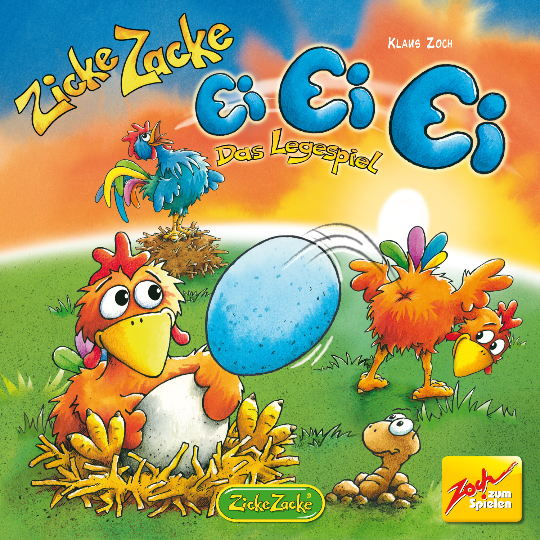 Kinderspiel Zicke Zacke Ei Ei Ei