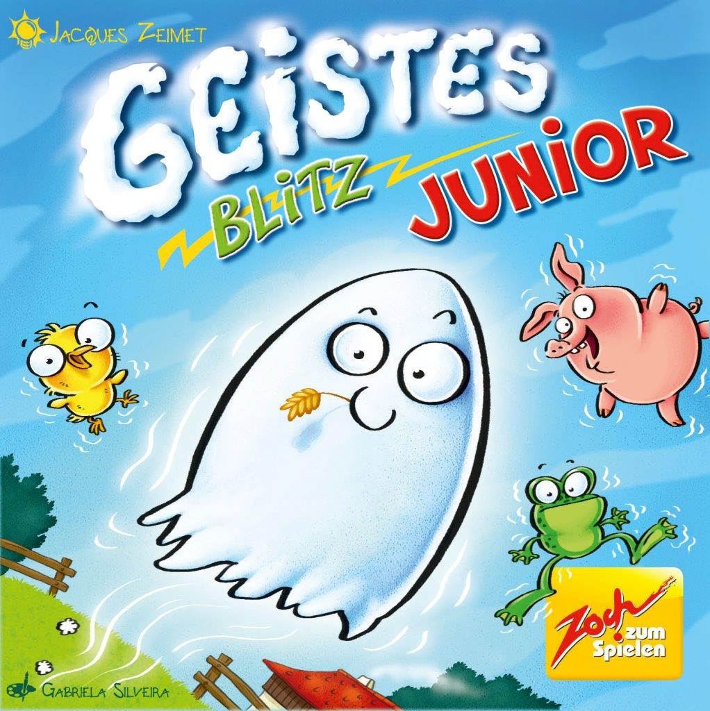 Kinderspiel Geistesblitz Junior