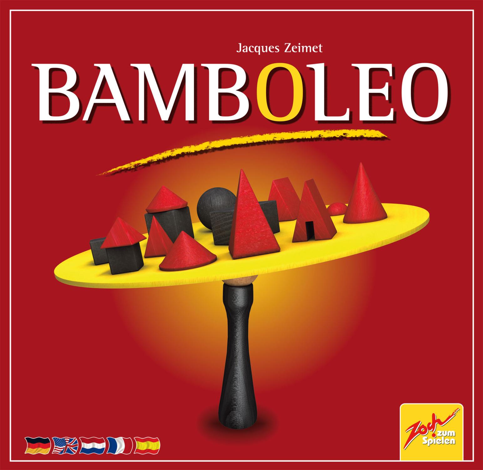 Bau- und Geschicklichkeitsspiel Bambolea