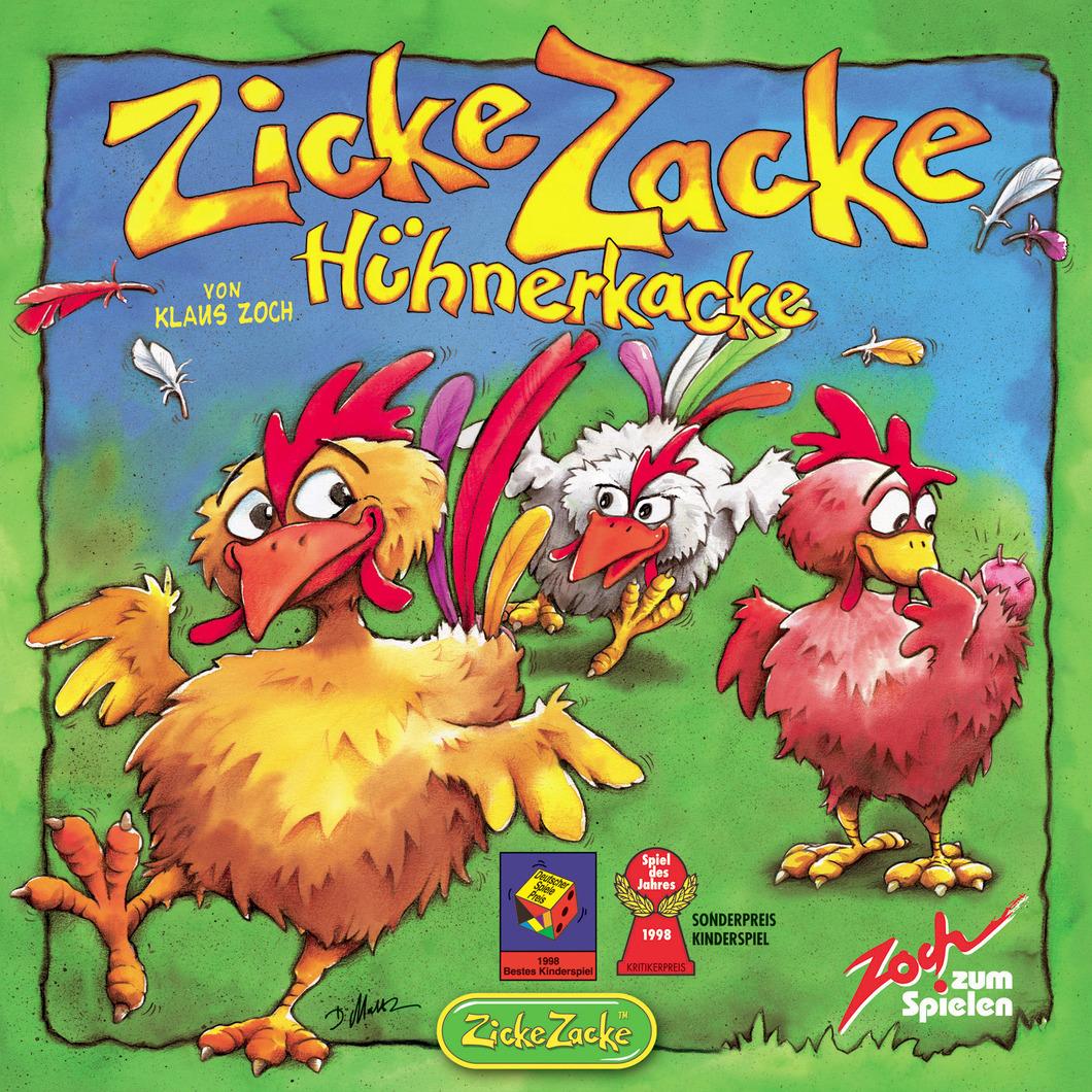 Gedächtnisspiel Zicke Zacke Hühnerkacke
