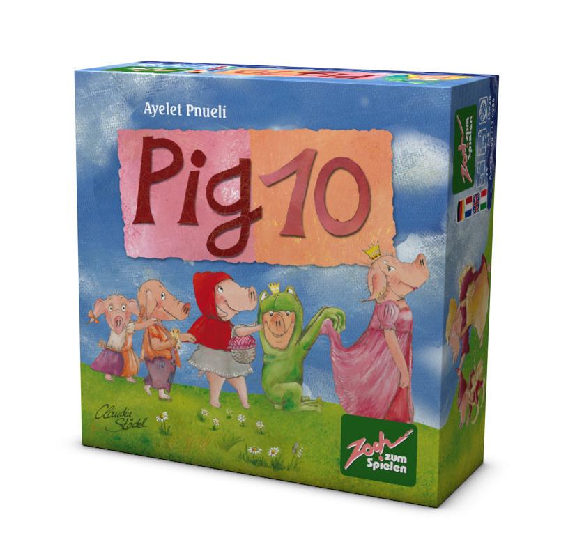 Kartenspiel Pig 10