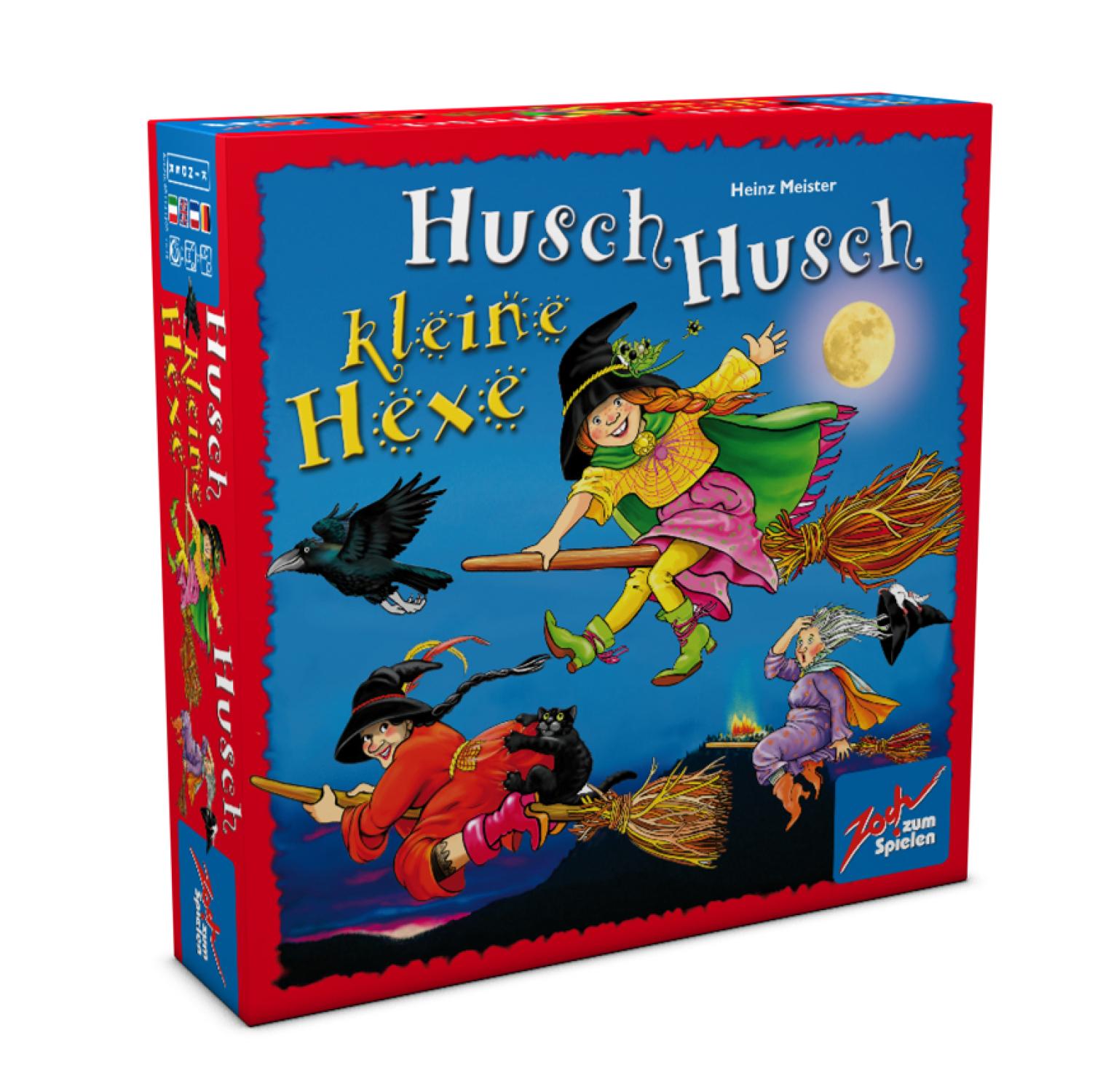 Kinderspiel Husch Husch Kleine Hexe