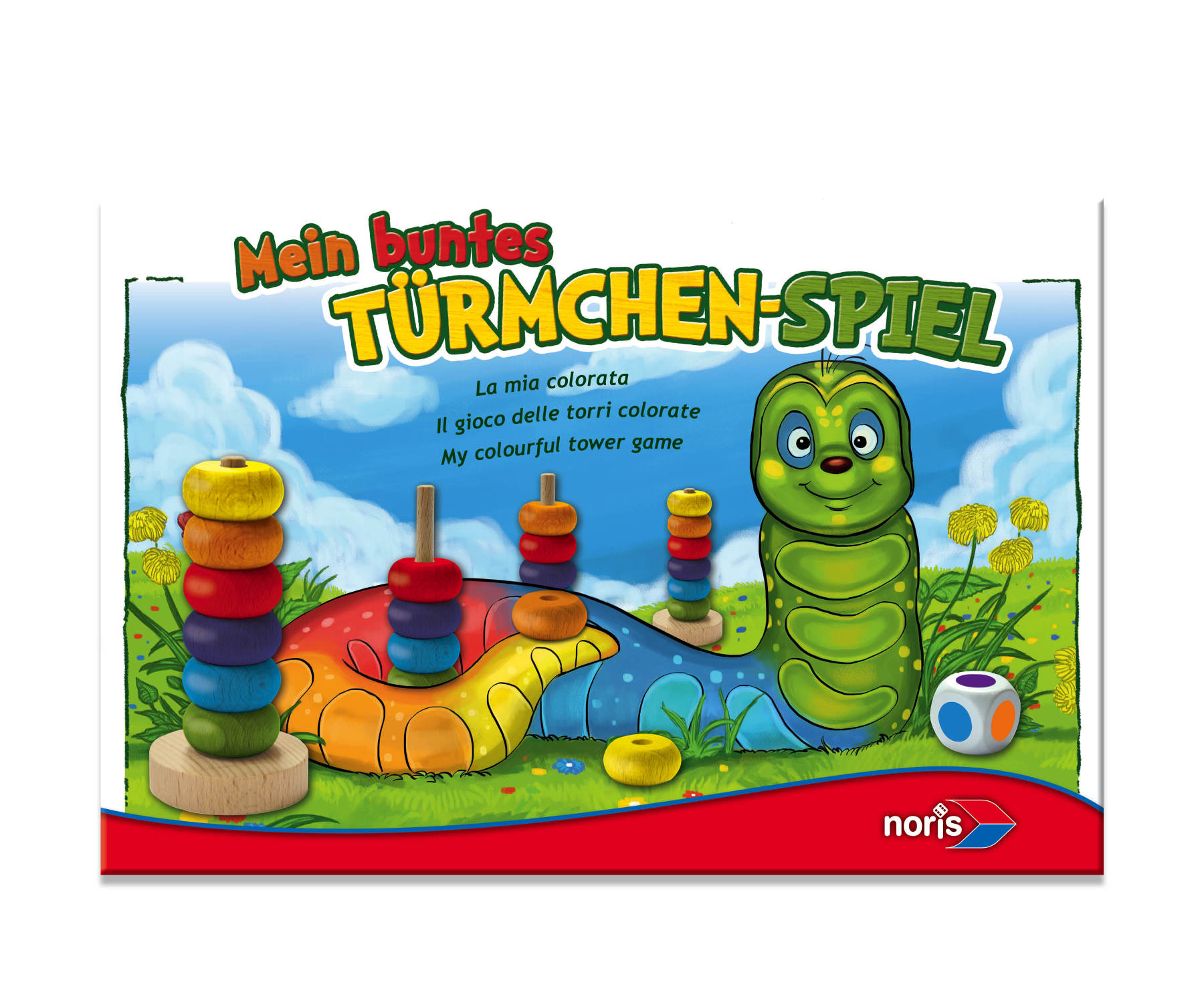 Kinderspiel Türmchenspiel