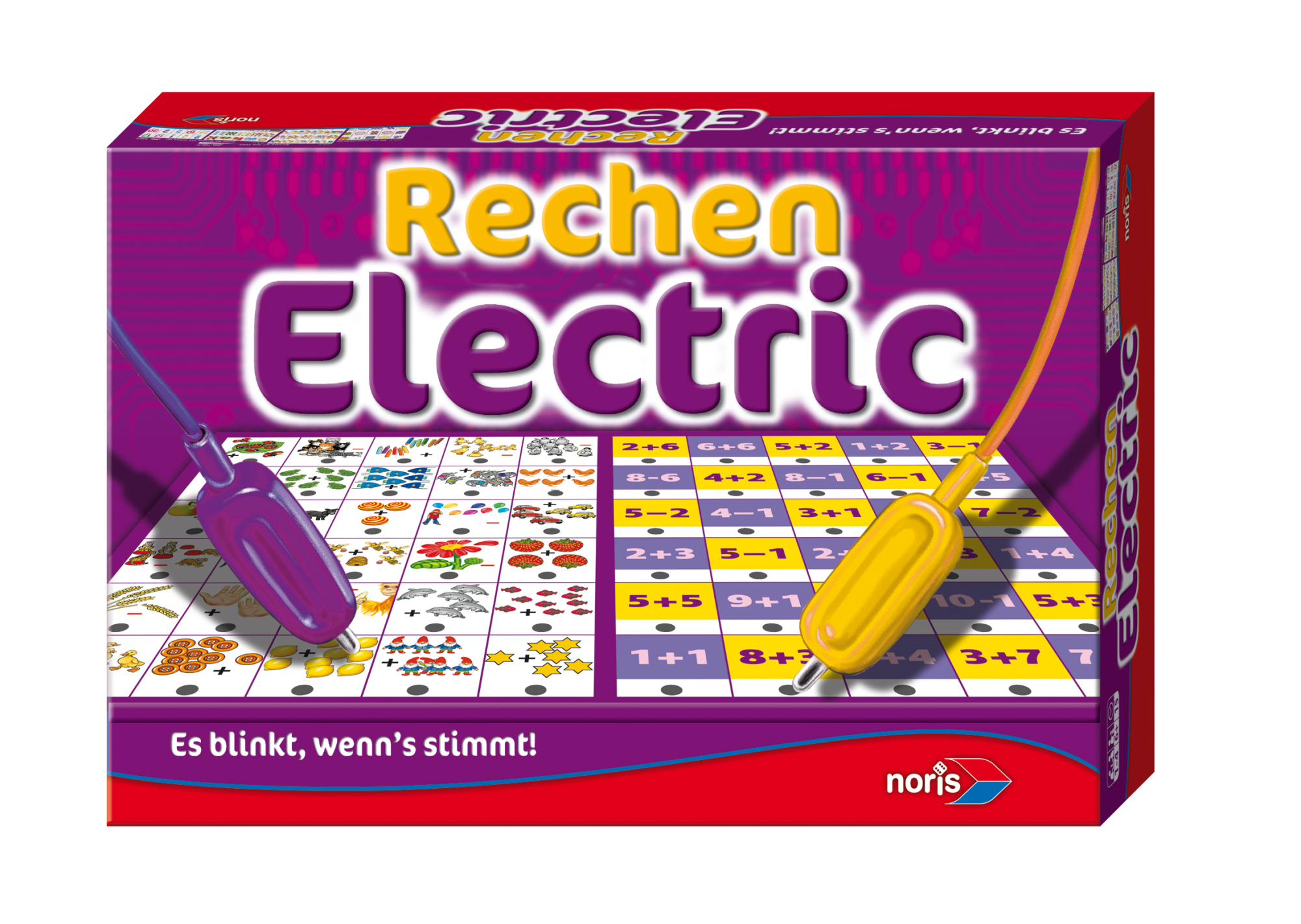 Kinderspiel Rechnen Electric
