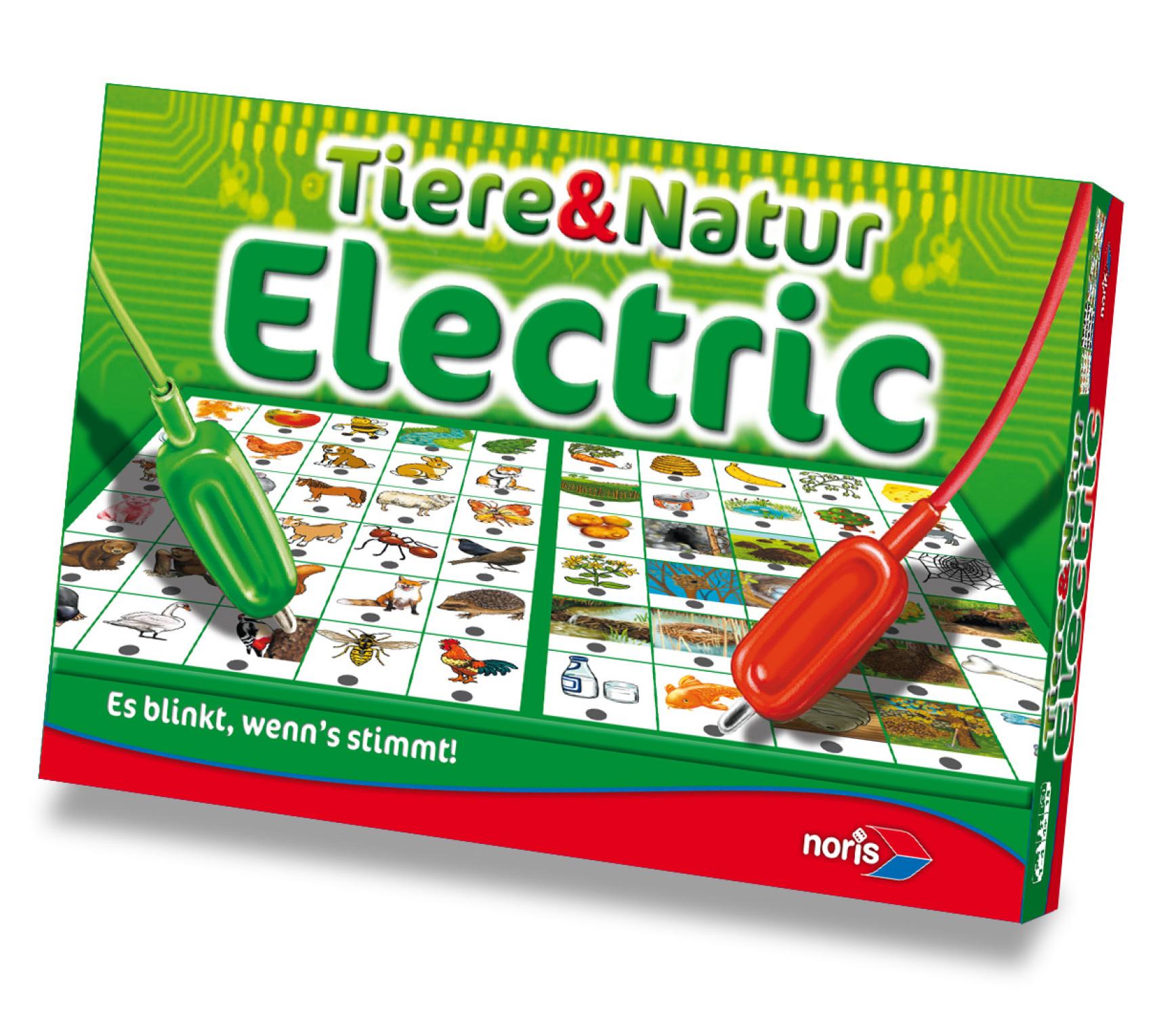 Kinderspiel Tiere und Natur Electric