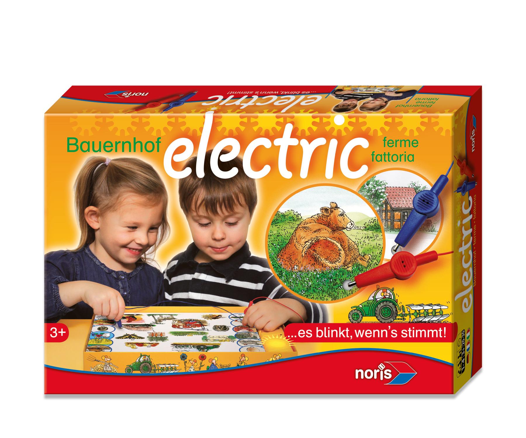 Kinderspiel Bauernhof Elektrik
