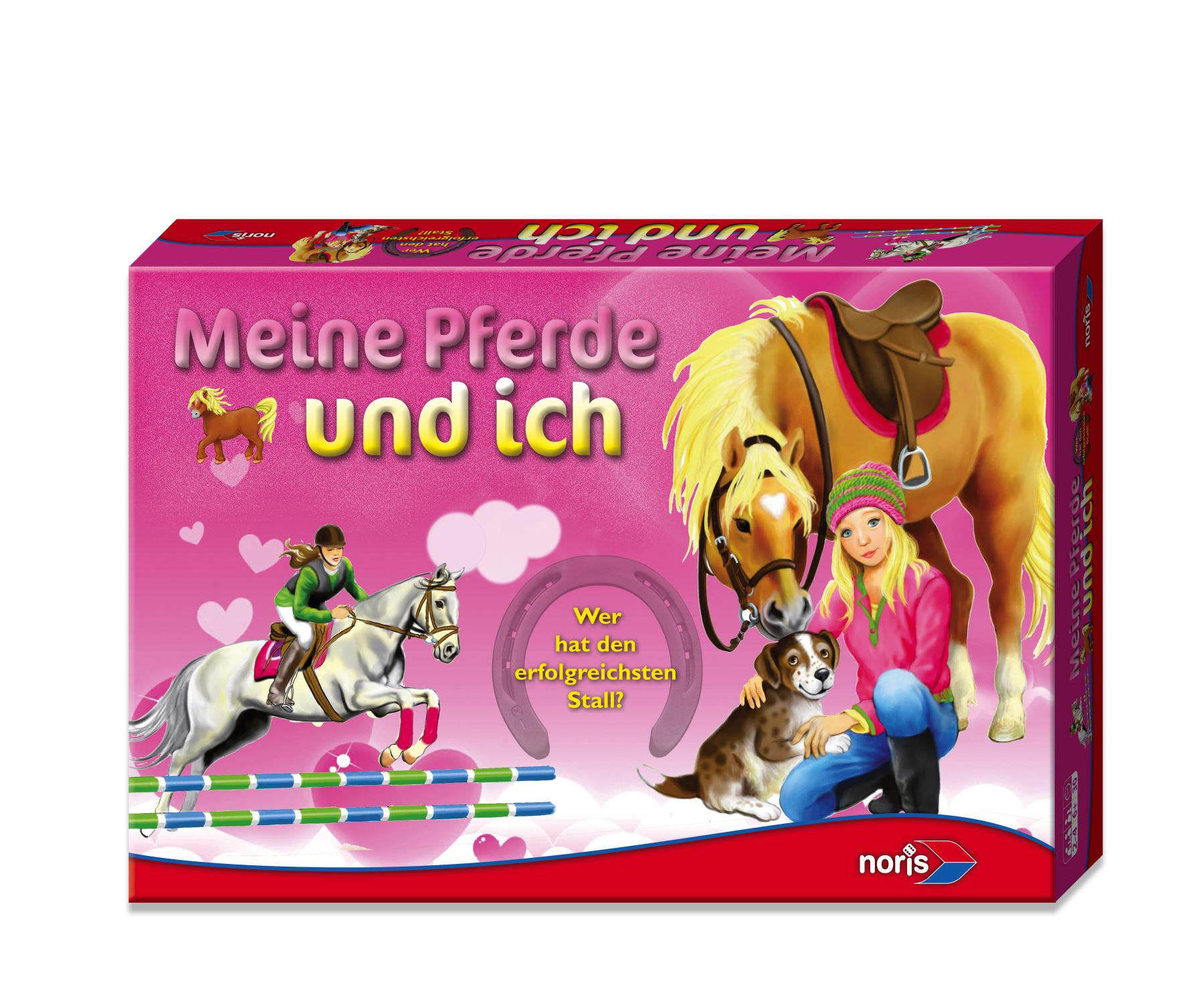 Kinderspiel Meine Pferde und ich